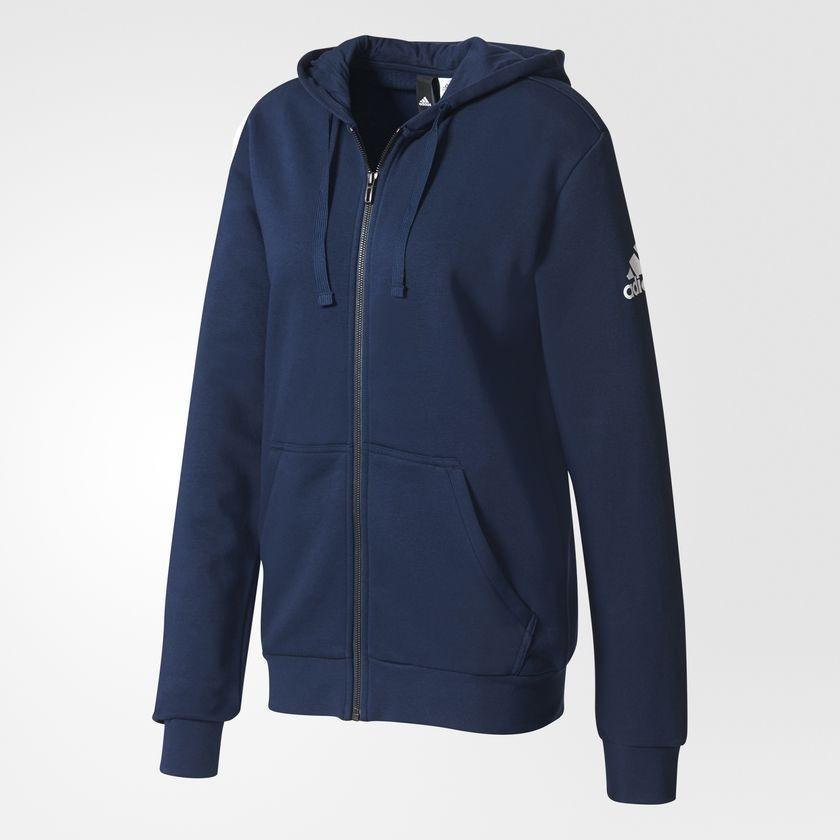 4da1b5dc3 jaqueta adidas capuz essentials base fleece masculino - azul. Carregando  zoom.