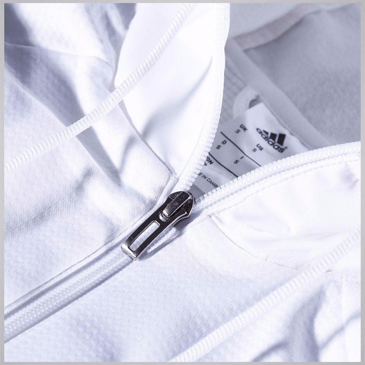 jaqueta adidas flamengo sf hood zip c capuz original oficial. Carregando  zoom. 88887635f3cc6
