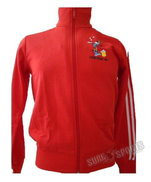 5d41c5a0500 Jaqueta adidas Goofy Disney Vermelha - R  179
