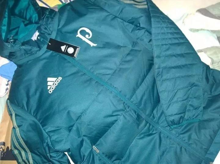 Jaqueta adidas Inverno Pesada Do Palmeiras - R  499 ec7a6859ce198