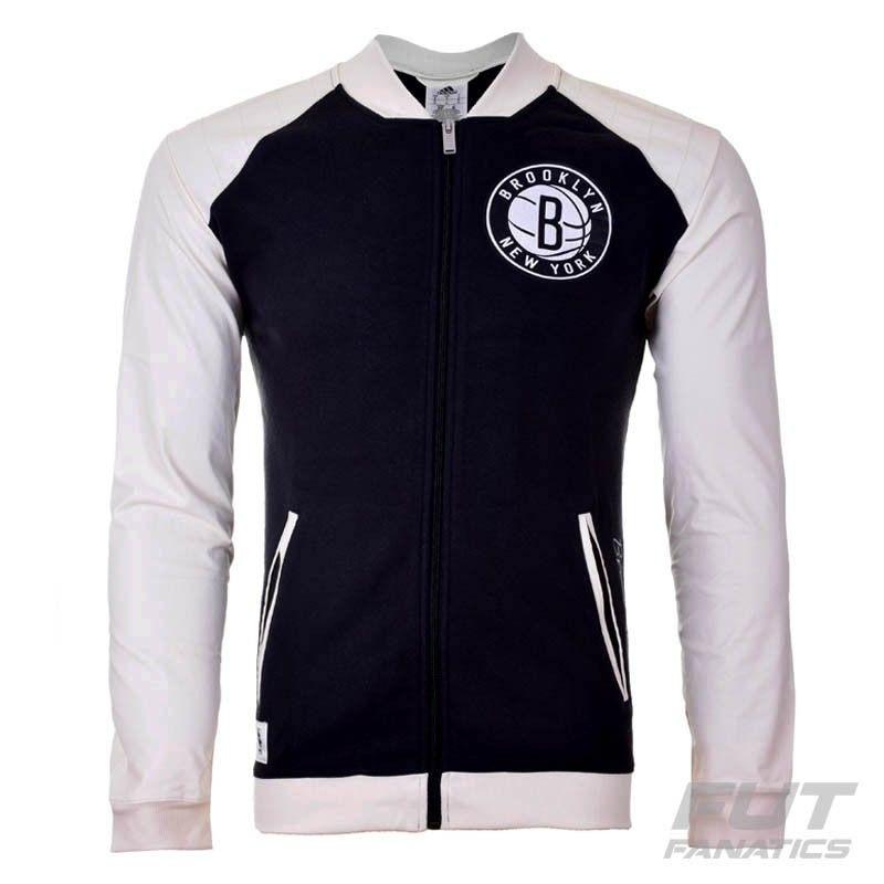 ... Jaqueta adidas Nba Brooklyn Nets Washed - Futfanatics - R 159 9cc1321b491