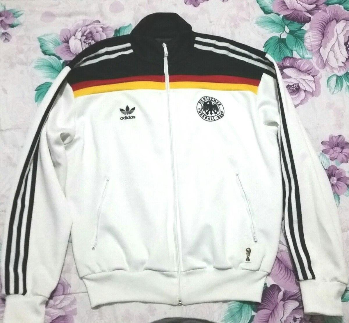 jaqueta adidas originals alemanha germany 1974. Carregando zoom. 387d8b8e7e300