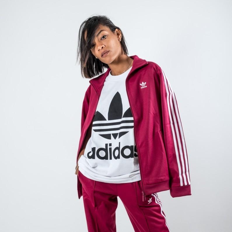 6d87b1228cd0d Jaqueta adidas Originals Contemp Bb Tt - Original - R  269