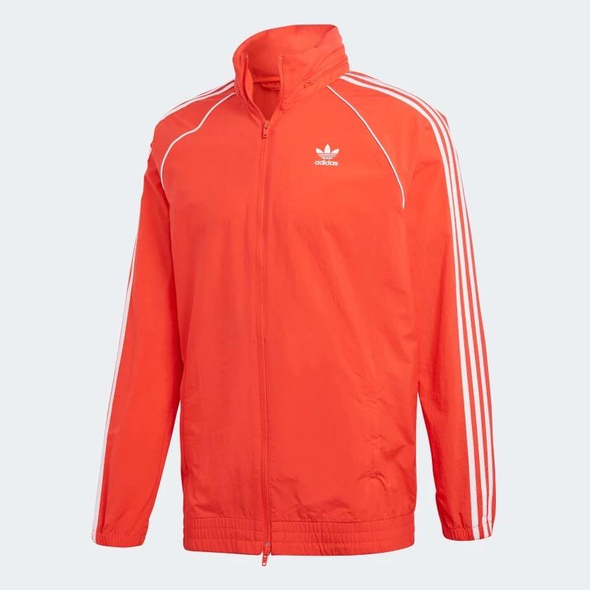 jaqueta adidas originals corta-vento sst windbreaker. Carregando zoom. 5b35f7e137865