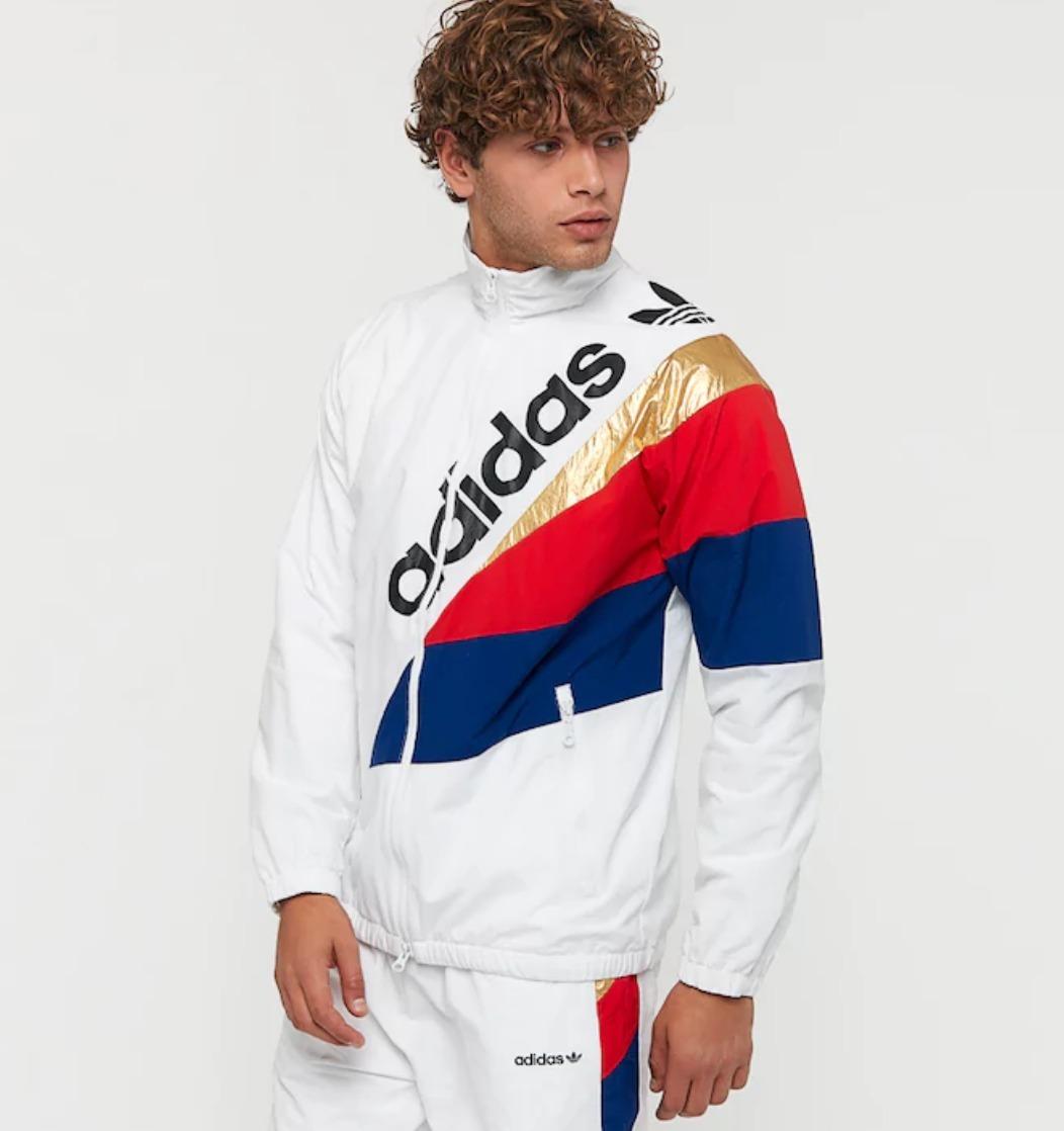 jaqueta adidas originals corta vento tribe blusa casaco. Carregando zoom. 83a609fd91337