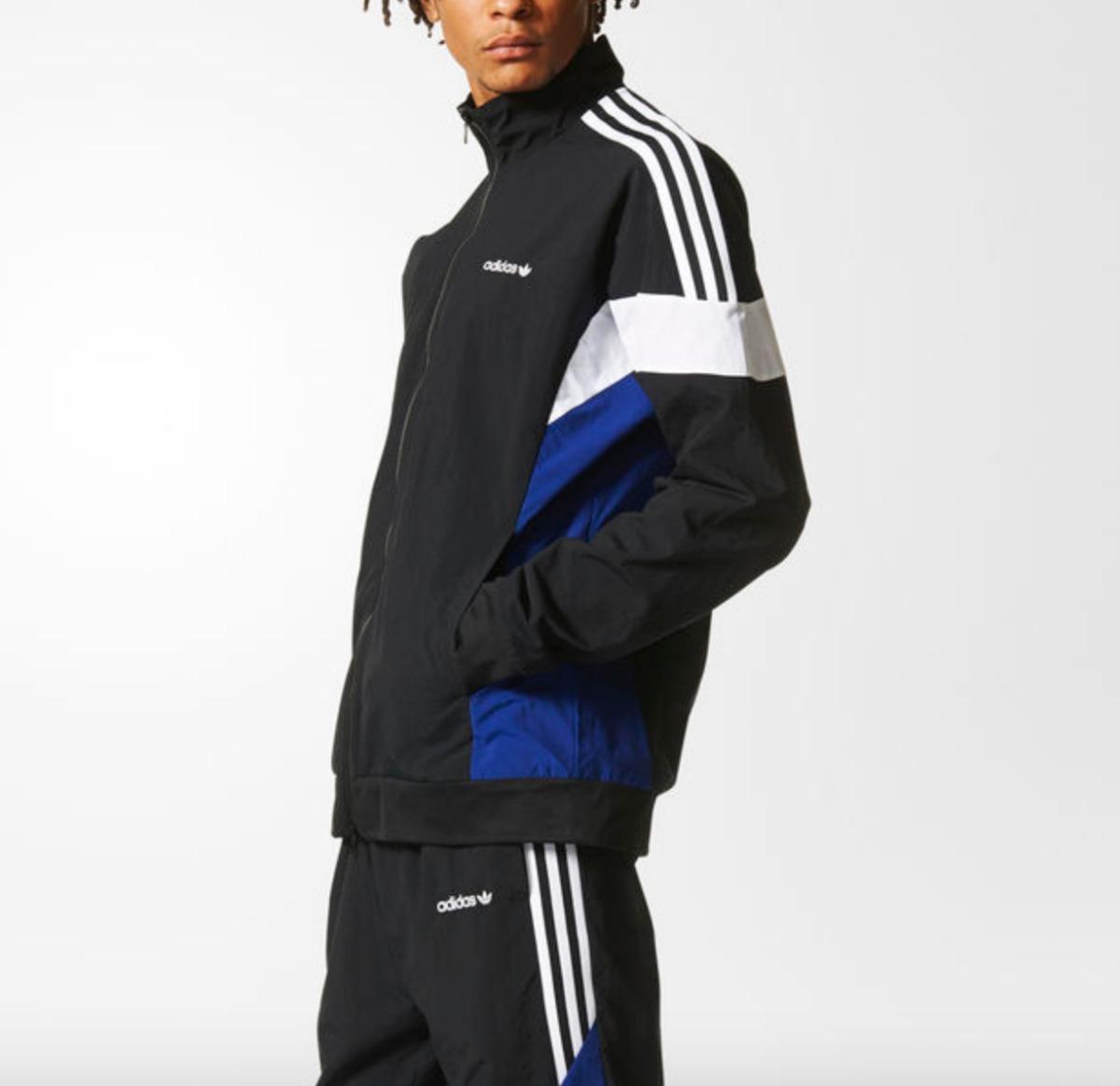 8a267e1e35b jaqueta adidas originals pete challenger tracktop preta. Carregando zoom.