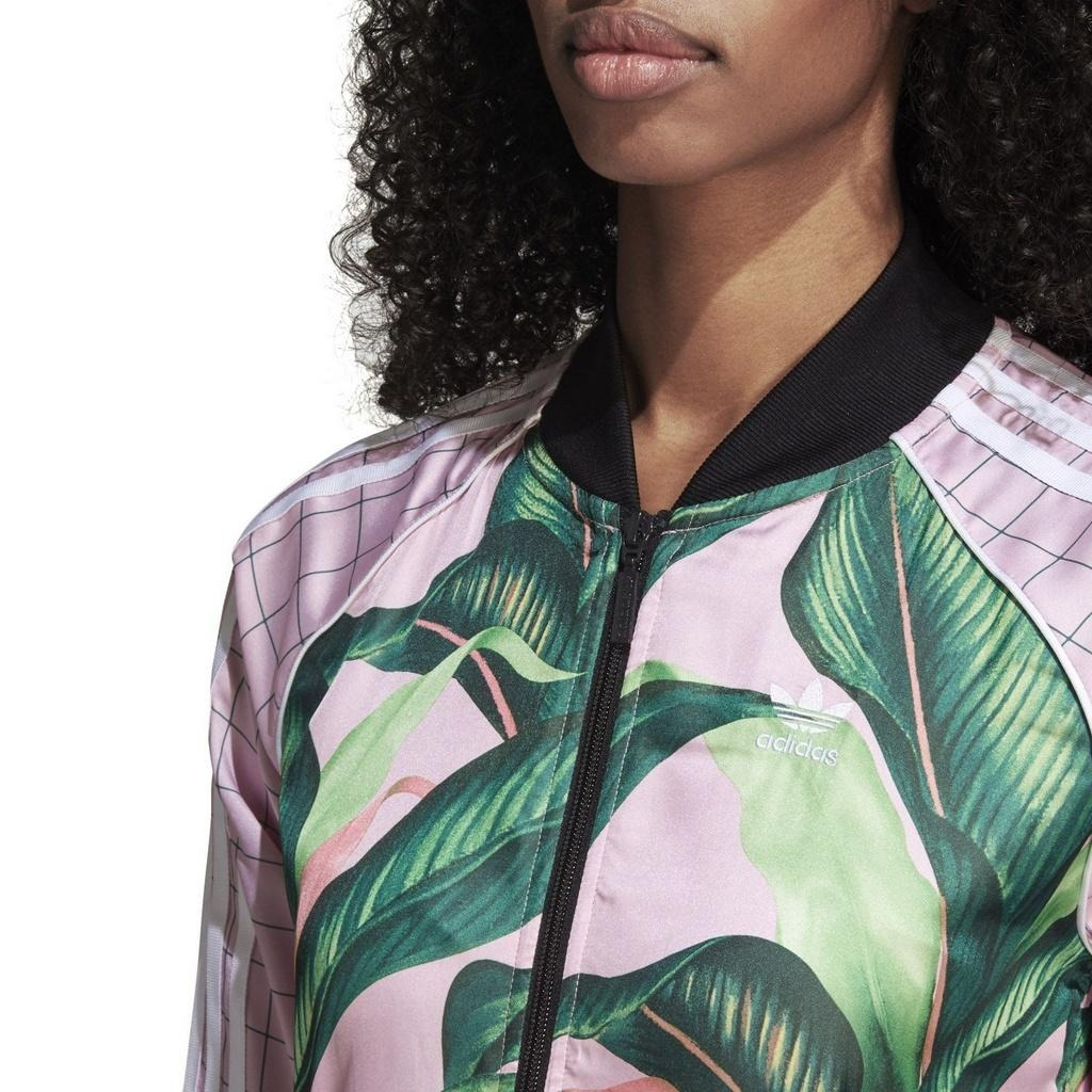 db0dc012df4 jaqueta adidas x farm sst track rosa - original. Carregando zoom.