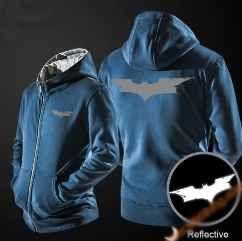 jaqueta agasalho cosplay halloween batman dc comics