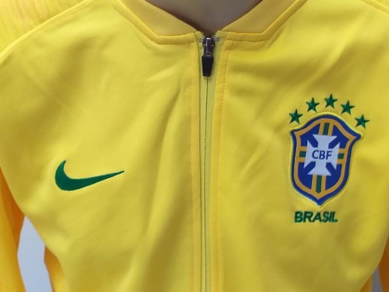 Jaqueta Agasalho Profissional Do Brasil Para Entrar Em Campo