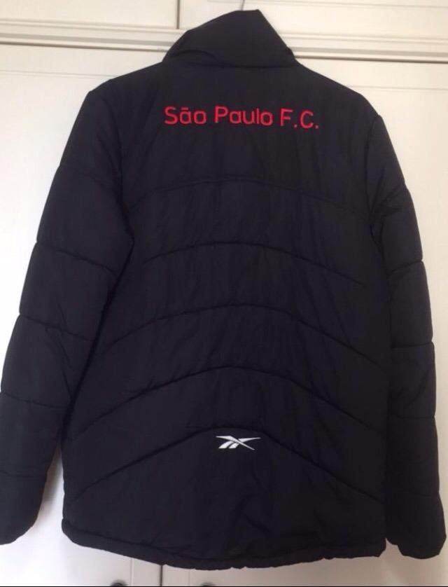 08465eacd61 jaqueta agasalho são paulo f.c reebok torcida independente. Carregando zoom.
