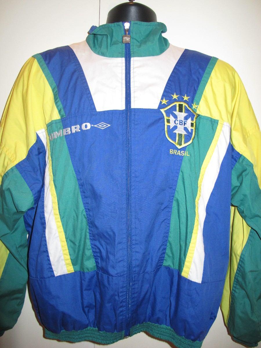 jaqueta agasalho umbro seleção brasileira 94-95 romário. Carregando zoom. 803728a8f779a