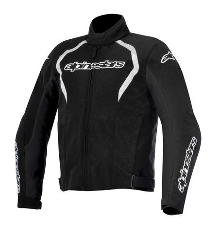jaqueta alpinestars fastback - preto 100% impermeável