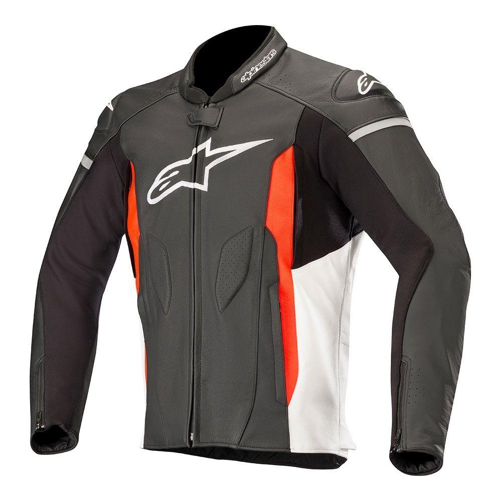 jaqueta alpinestars faster em couro para motociclista. Carregando zoom. 0c7a070e1c7ad