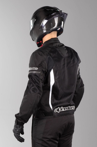 jaqueta alpinestars t-faster air ventilada verão