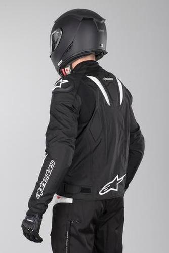 jaqueta alpinestars t-gp r wp impermeável para motociclista