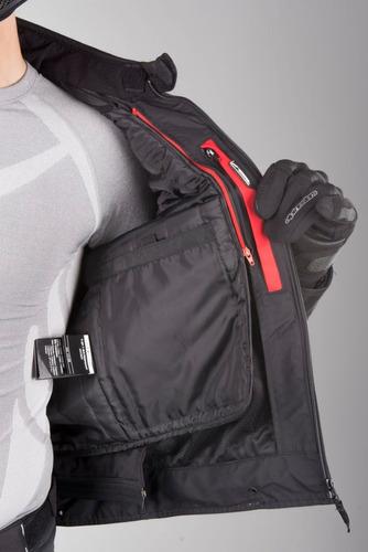 jaqueta alpinestars t-sp-1 impermeável para motociclista