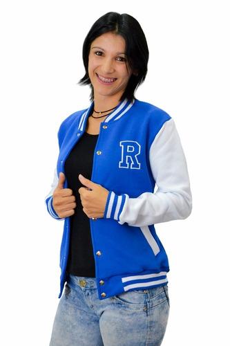 jaqueta baseball college feminina