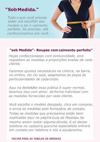 jaqueta belle & bei jeans feminina  - sob medidas