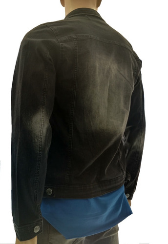 3501b0343f Jaqueta Black Jeans Masculina Soul Rock - Pronta Entrega - R  139