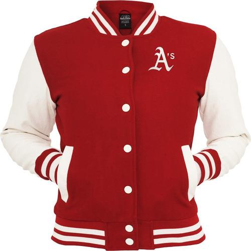 jaqueta blusa casaco a's baseball oakland athletics bordado