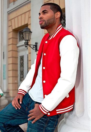 jaqueta blusa casaco baseball la bordado college americana !
