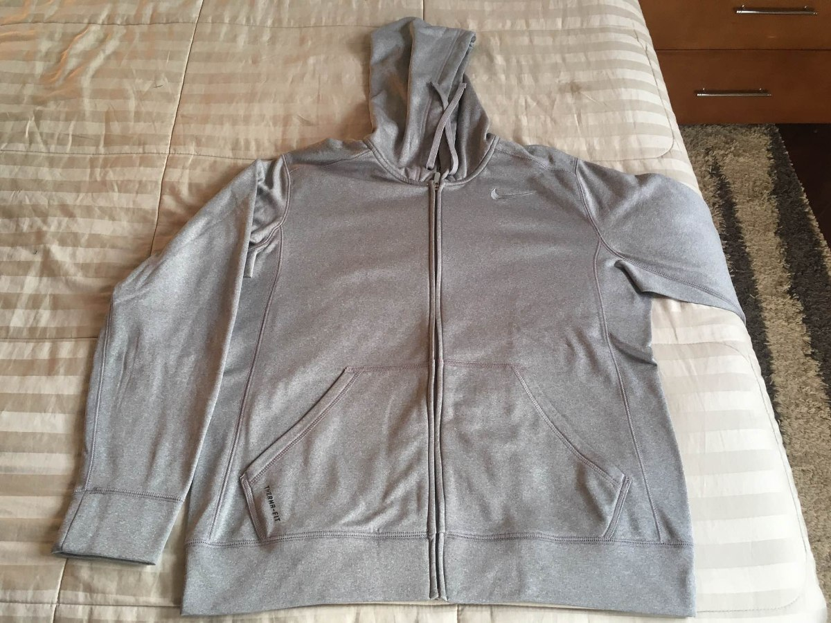 cb925f56f4 jaqueta blusa casaco nike - tamanho m - original -therma fit. Carregando  zoom.
