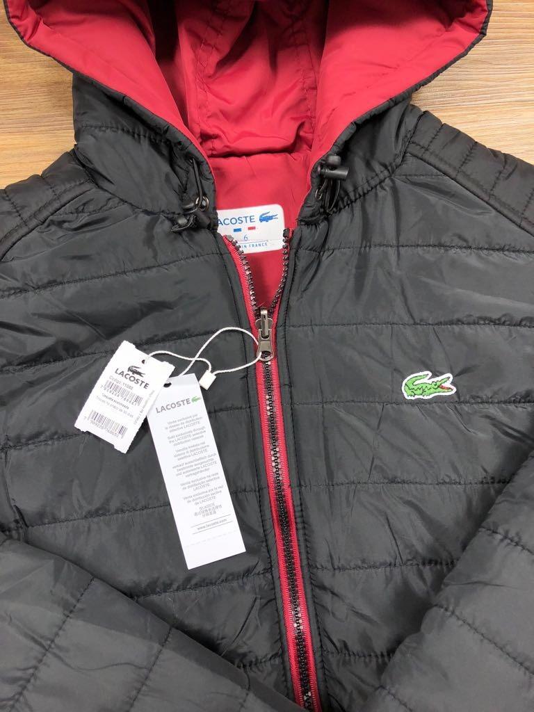 jaqueta blusa de frio lacoste acolchoada corta vento p ao gg. Carregando  zoom. 8d5b17a1e2
