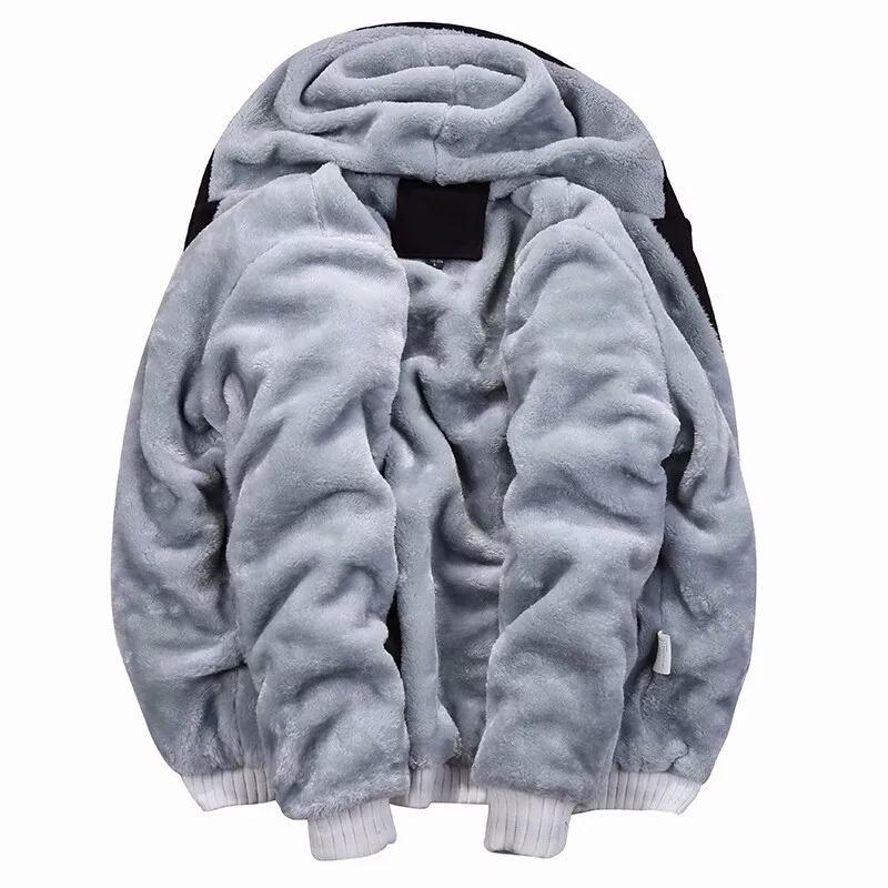 jaqueta blusa frio masculina com capuz e forro de pelo. Carregando zoom. 75032c87c24