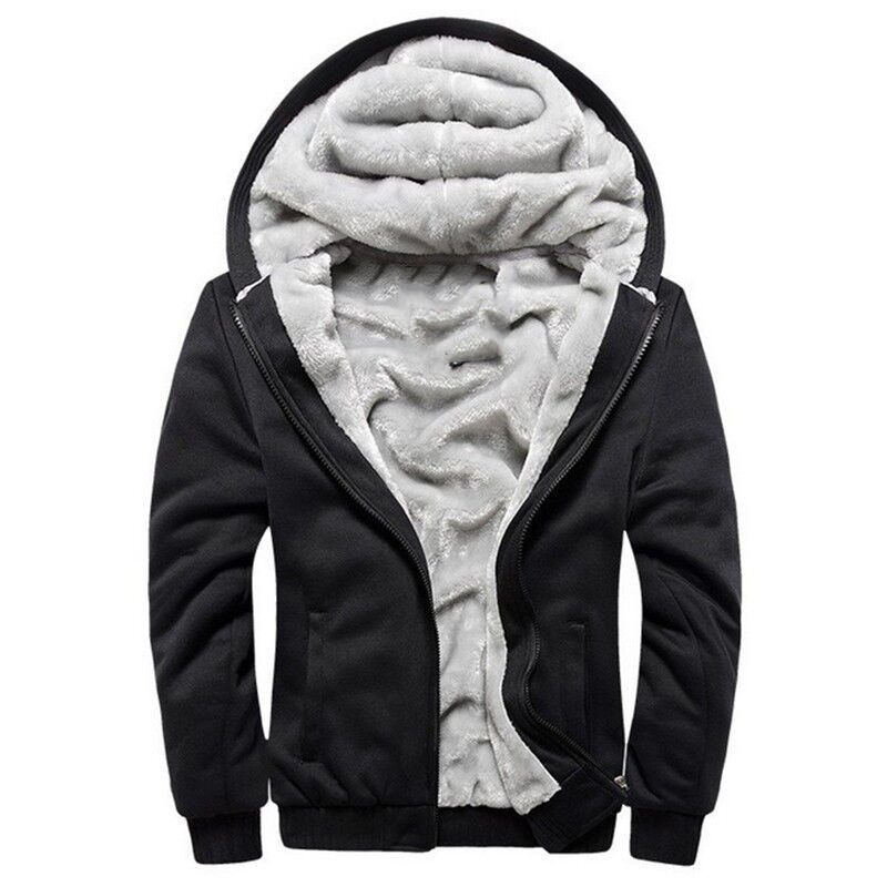 jaqueta blusa frio masculina com capuz e forro de pelo. Carregando zoom. 42b3ee05e89ef