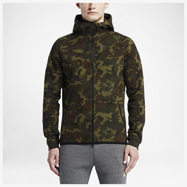 0b7e73e794a9e Jaqueta Blusa Nike Tech Fleece Camuflado Windrunner Neymar M - R ...