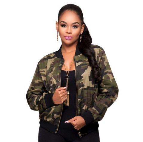 jaqueta bomber militar camuflada moda instagram inverno 2018
