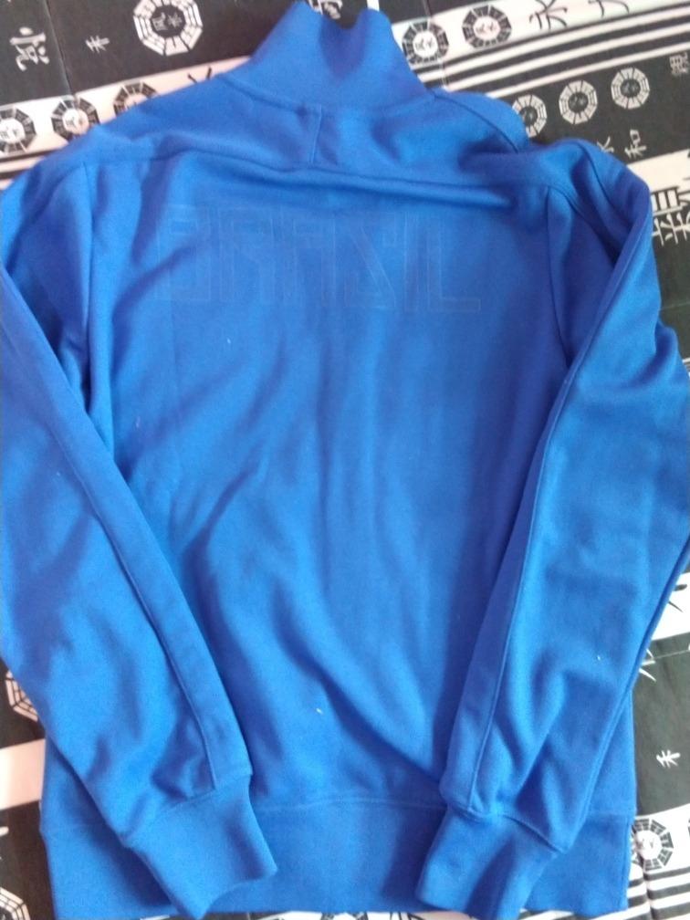 jaqueta brasil azul. Carregando zoom. 3e21d4919e435