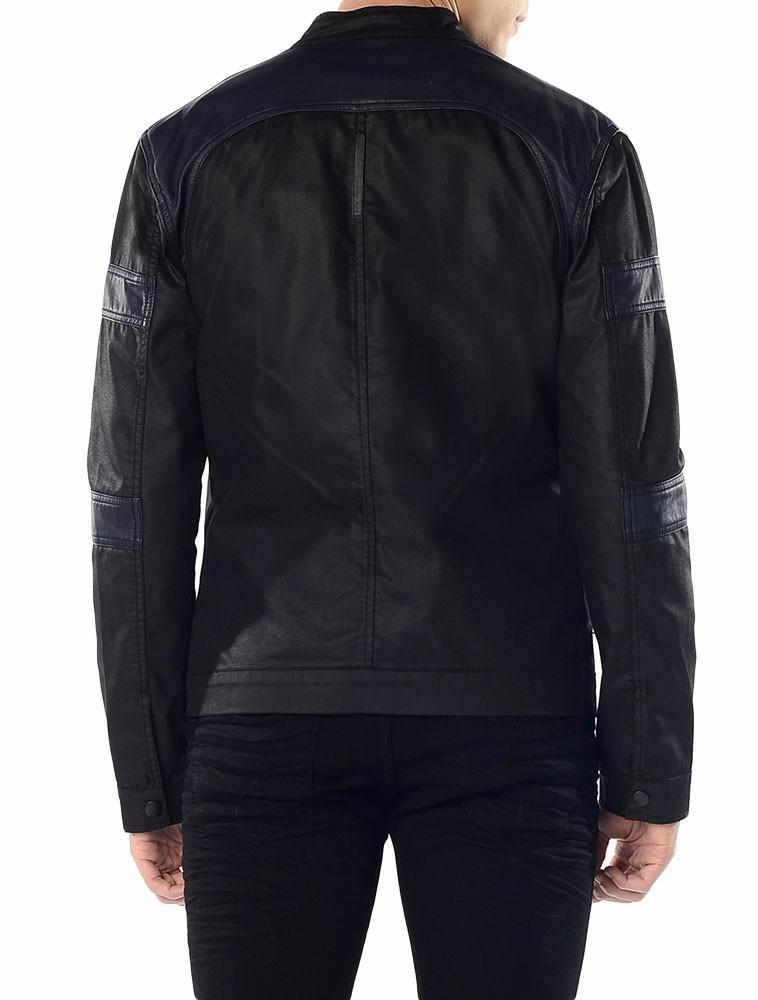 83da5775f35a0 jaqueta bicolor calvin klein jeans com recortes preto. Carregando zoom... jaqueta  calvin klein. Carregando zoom.