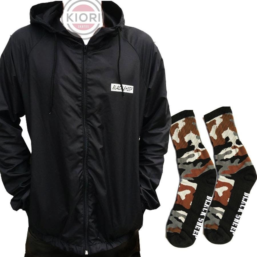 9cc8b422bb jaqueta camuflada forrada com capuz black sheep. Carregando zoom.