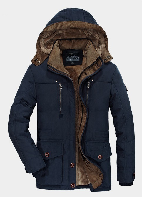c0102ca013c Jaqueta Casaco Blusa Slim Fit Masculina Frio Inverno - R  479