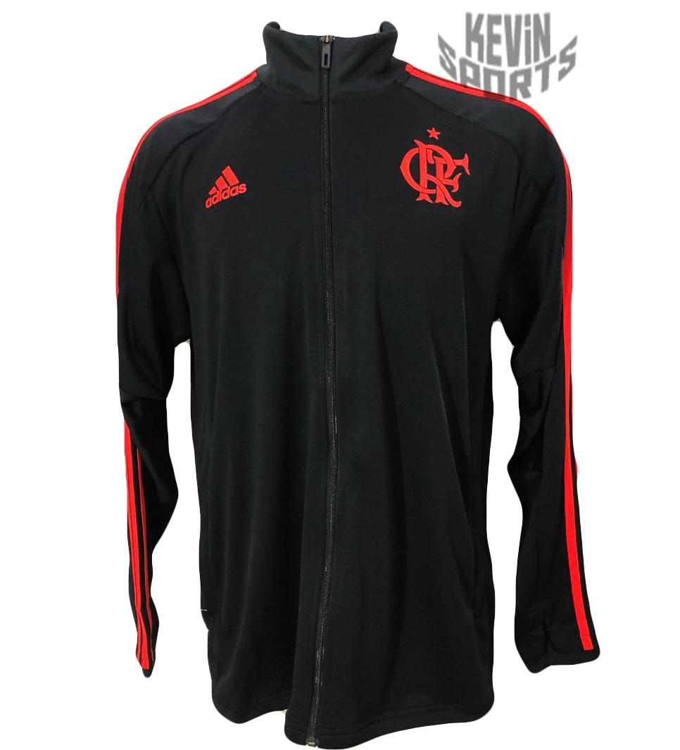 f27dad2806f jaqueta casaco original flamengo adidas treino preta 2018. Carregando zoom.