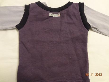 jaqueta casaco tigor lilica ripilica bebe maternidade lilas