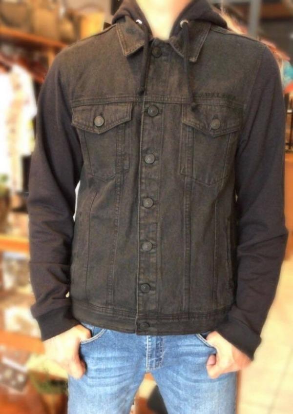 e21c73f604 jaqueta cavalera murilo black jeans 06.03.0356. Carregando zoom.