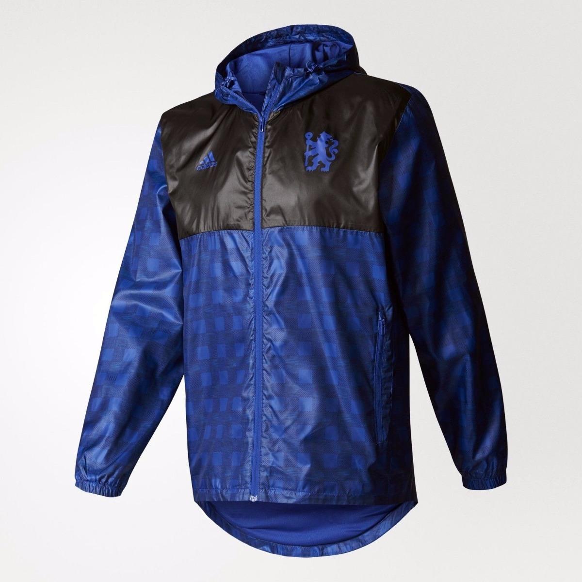 9190c6ea09 jaqueta chelsea adidas corta vento original. Carregando zoom.