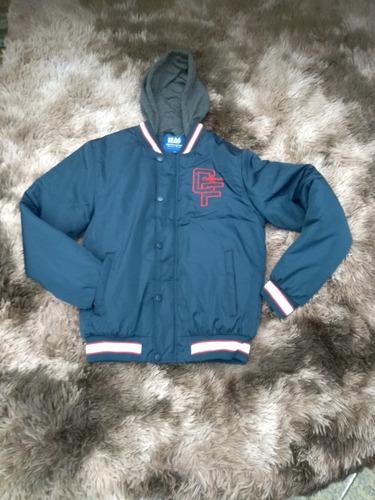 jaqueta coleggi com detalhe no punho