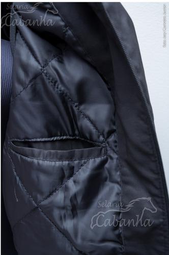 jaqueta colete blusa de frio cavalo crioulo selaria cabanha