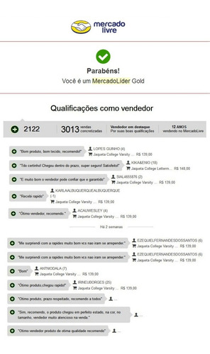 jaqueta college capuz ny bordado varsity importada no brasil