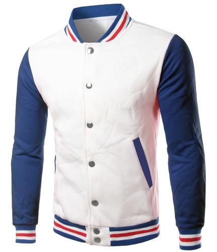 jaqueta college masculina casaco colegial moletom