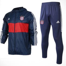 700a5d1005 Jaqueta Hino Adidas Bayern no Mercado Livre Brasil