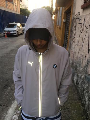 jaqueta  corta vento bmw impermeavel refletivo