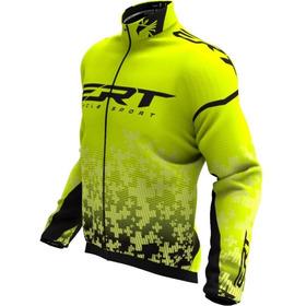 Jaqueta Corta Vento Ciclismo Inverno Ert Team Bike Mtb Speed