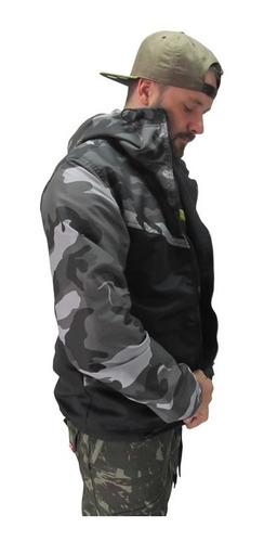 jaqueta corta vento - corta vento camuflado b02