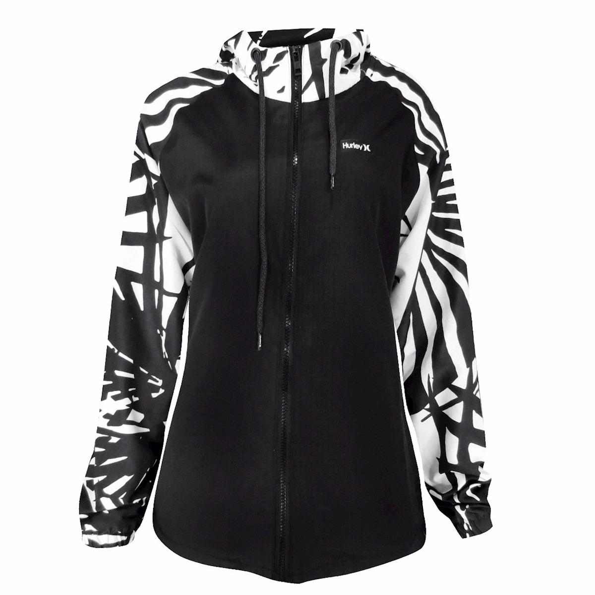 51cc093001987 jaqueta corta vento feminino hurley palmer branco. Carregando zoom.