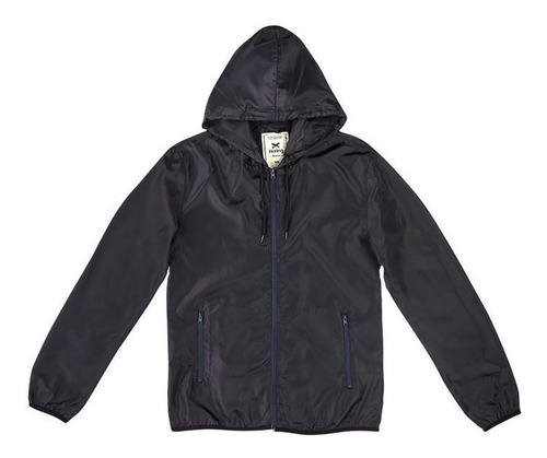 jaqueta corta vento hering preta