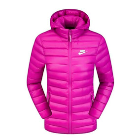 Jaqueta Corta Vento Nike Rosa Japona Feminina Impermeável
